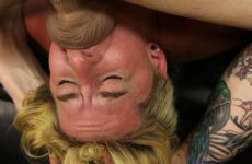 Facial Abuse Misty Lee